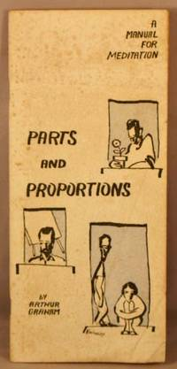 image of Parts and Proportions; A Manual for Meditation.