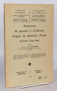 image of Structures de parenté et d'alliance d'après les formules Pende (ba-Pende, Congo Belge)
