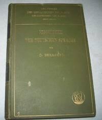 image of Geschichte der Deutschen Sprache (Grundriss der Germanischen Philologie Dritte Auflage)