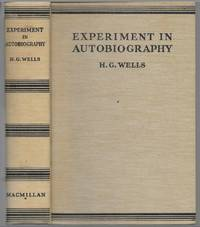 image of Experiment In Autobiography, By H.G. Wells (Macmillan Oct. 1934 1st Ed.)