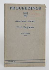 image of Proceedings of The American Society of Civil Engineers. September 1934, Volume 60, No. 7: Technical Papers, Discussions, Applications for Admission and Transfer