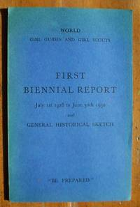 FIRST BIENNIAL REPORT, JULY 1ST,1928 - JUNE 30,1930 & GENERAL HISTORICAL SKETCH
