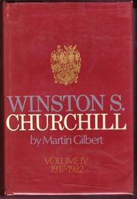 "WINSTON S CHURCHILL, Volume IV, ""1917 - 1922"","