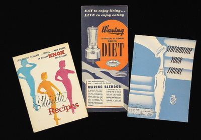 A group of three (3) cook books emphasizing the importance of a proper weight and improved appearanc...