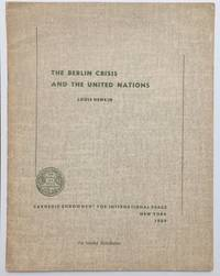 image of The Berlin crisis and the United Nations
