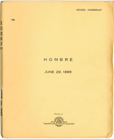 Los Angeles: Twentieth Century-Fox, 1967. Revised Draft script for the 1967 film. One of the great W...