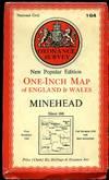 image of Ordnance Survey One-Inch Map : Sheet 164 Minehead