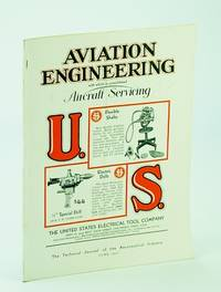Aviation Engineering (Magazine), With Which is Consolidated Aircraft Servicing - The Technical Journal of the Aeronautical Industry, June 1931 - New Engine Features / Tests and Calculations on the Medvedeff Monobiplane