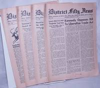 image of District Fifty news, 4 issues, 1955, Vol. 8, Nos. 3, 7, 20_23