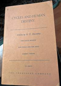 Cycles And Human Destiny Articles by H.P. Blavatsky