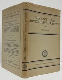 image of CONTACT LENS ROUTINE AND PRACTICE (1953)