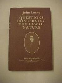 image of Questions Concerning the Law of Nature