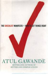 image of THE CHECKLIST MANIFESTO  How to Get Things Right