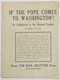 image of If the Pope comes to Washington! Or Catholicism in the National Capital