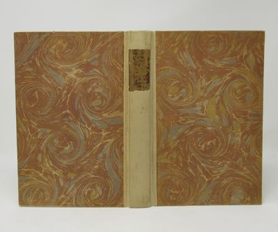 Los Angeles: Jake Zeitlin, 1929. First Edition. Hardcover. Very good. One of 900 copies, printed by ...
