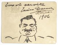 Enrico Caruso Signed Postcard.