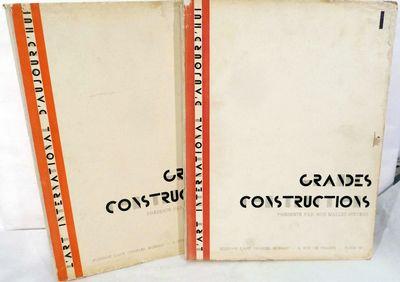 Paris: Charles Moreau, 1929. First edition. Hardcover. Orig. board portfolios lettered in black, dec...