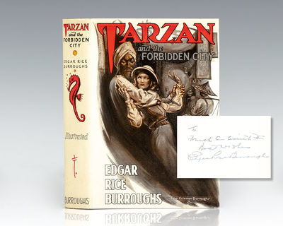 Tarzana: Edgar Rice Burroughs, Inc. Publishers, 1938. First edition of the twentieth book in Burroug...
