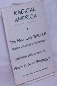 image of Radical America, an SDS journal of American radicalism. May-June, 1968, vol. 2, no. 3