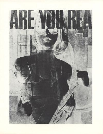 Los Angeles: Robert Heinecken, 1968. First edition. Heinecken, Robert F.. Folio, 2 loose text pages,...