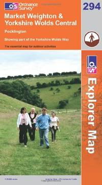 image of Market Weighton and Yorkshire Wolds Central (Explorer Maps) (OS Explorer Map Active)