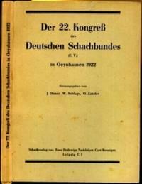 Der 22. Kongreß des Deutschen Schachbundes Oeynhausen 1922