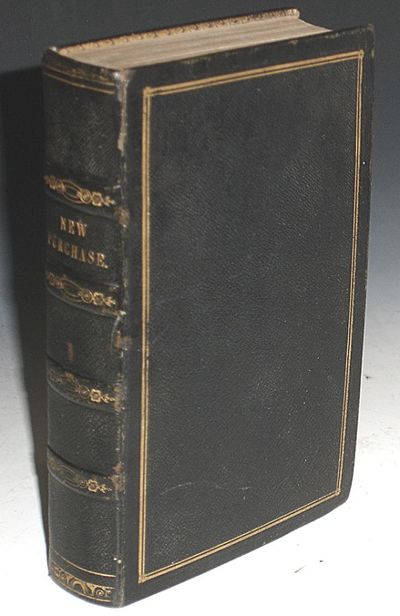 New York: D. Appleton and Co, 1843. First Edition. Octavo. 2 volumes bound in one; xii, 300pp and vi...