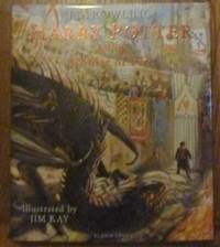 image of Harry Potter and the Goblet of Fire: Illustrated Edition (Signed by Illustrator- First UK edition-first printing)