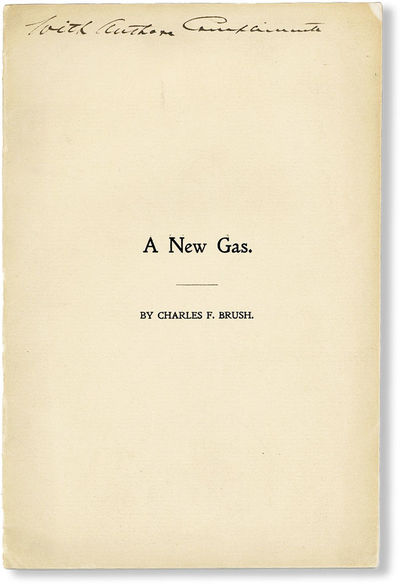 N.d., 1898. First Edition. Octavo (22.5cm.); publisher's cream printed staplebound wrappers; ,17pp.;...