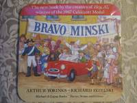 Bravo Minski  / Advertising - The Dust Jacket in the Form of a Puzzle