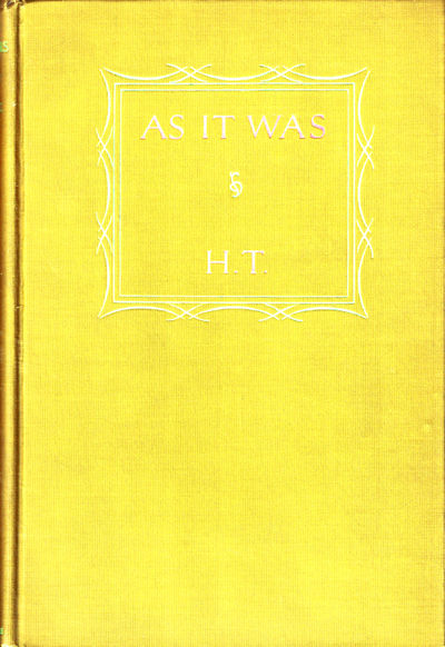 NY: Harper and Brothers, 1927. Hardcover. Very good. First Edition. Extremities just lightly worn, e...
