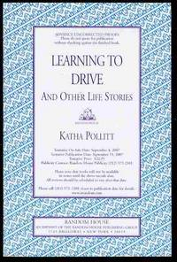 image of Learning to Drive: And Other Life Stories