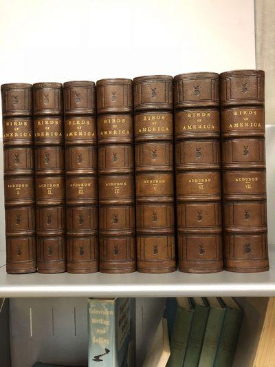 New York: V.G. Audubon and Roe Lockwood & Son, 1859. Third edition. Seven volumes, royal 8vo (11 inc...