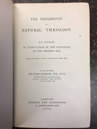 THE PHILOSOPHY OF NATURAL THEOLOGY