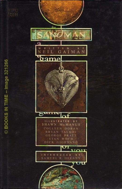 The Sandman A Game of You : First Edition by Neil Gaiman - First Printing -  1993 - from Books In Time and Biblio com