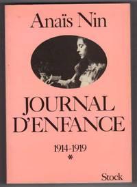 Journal D'Enfance  1914-1919