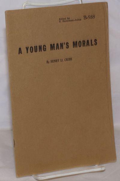 Girard, Kansas: Haldeman-Julius Publications, 1947. 24p., stapled wraps, 5.5x8.5 inches, wraps light...
