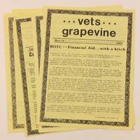 image of Vets grapevine [five issues]