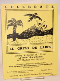 Celebrate el Grito de Lares [handbill] by  Puerto Rican Socialist Party Puerto Rican Solidarity Committee - 1980 - from Bolerium Books Inc., ABAA/ILAB (SKU: 54503)