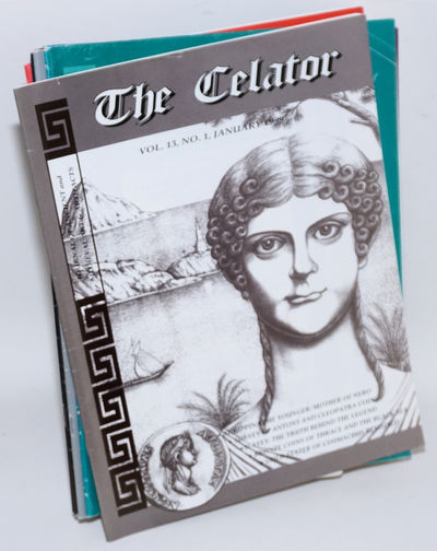 Lancaster, PA: the Celator, 1999. Twelve issues of the magazine devoted to classical numismatics. St...