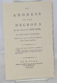 An Address to the Negroes in the State of New York