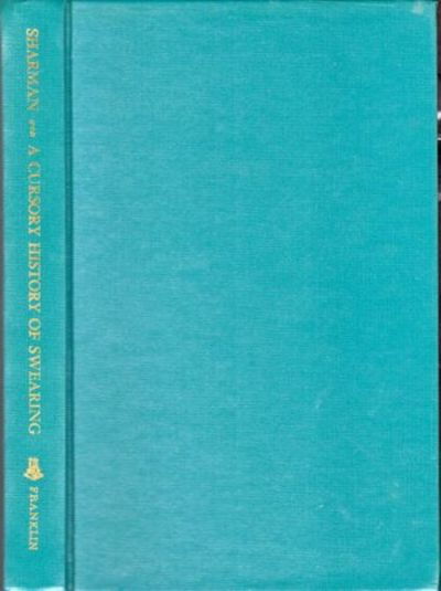 NY: Burt Franklin, 1968. Hardcover. Very good. vii, 199pp. Very good hardback bound in publisher's g...