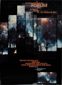 Internationales Forum des Jungen Films / 41. Internationale Filmfestspiele Berlin [International Forum of New Cinema / 41st Berlin International Film Festival] (Original poster for the 1991 film festival)