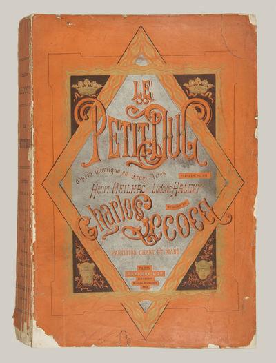 Paris: Brandus et Cie. , 1878. Large octavo. Original publisher's decorative orange wrappers printed...
