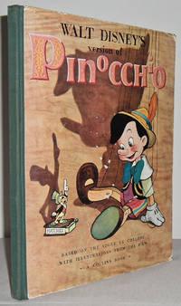 image of Walt Disney's version of Pinocchio