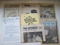 image of Off our backs: Vol xiii no. 5, with, Rag Times, with, WomaNews, with,  Kinesis, with, The Optimist, with, The Web, with,  Wircing Girls. 7  feminist newsheets from the 1980s from Australia and North America
