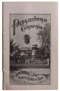 Pasadena.  Los Angeles County California in 1900
