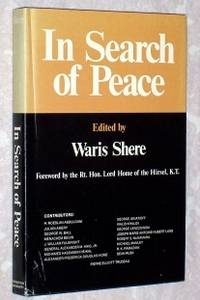 In Search of Peace by  Waris (editor) Shere - Signed First Edition - 1980 - from Bruce McLeod and Biblio.com