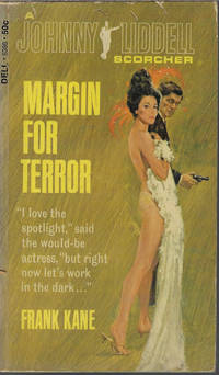 image of MARGIN FOR TERROR; A Johnny Liddell Scorcher