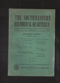 The Southwestern Historical Quarterly Volume LIII October 1949 No. 2
